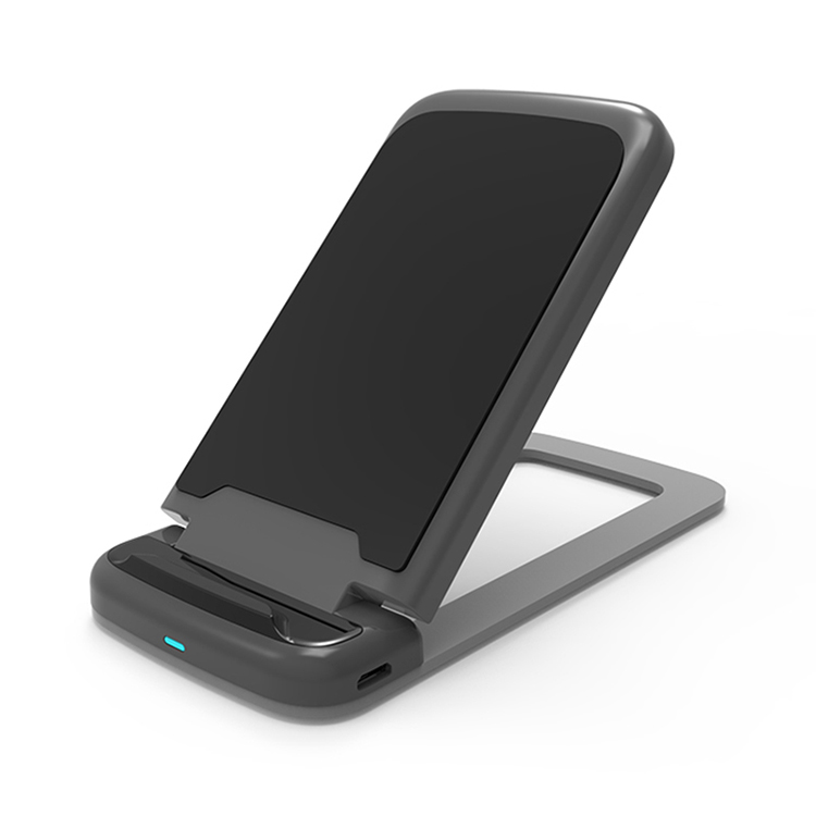 SIYOUNI Universal 10W Qi Fast Foldable Wireless Charger Stand Pad