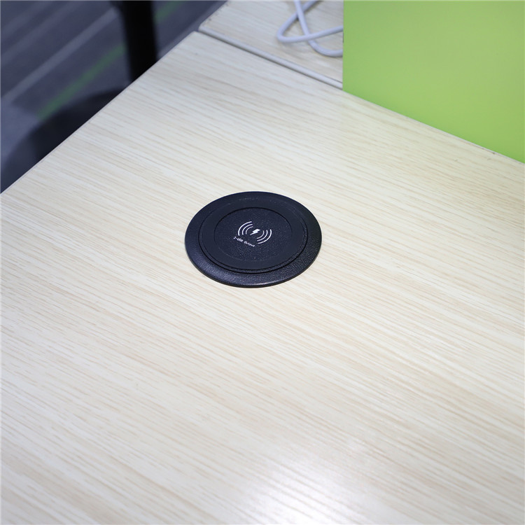 SIYOUNI latest model furniture wireless charger with two USB outputs