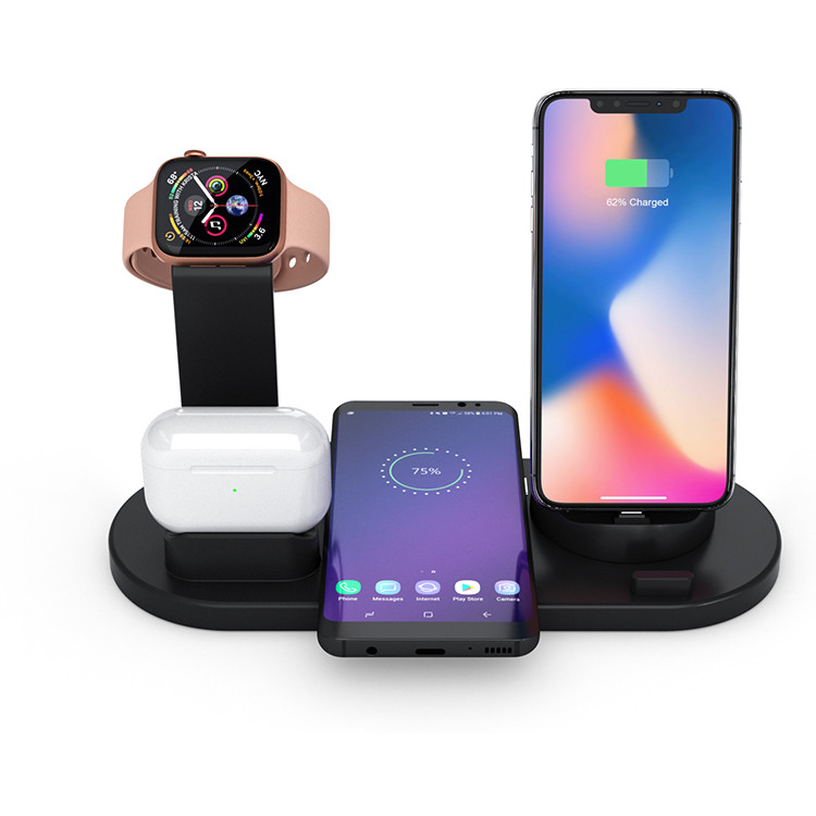 SIYOUNI Latest Model Multi-function Wireless Charger Stand title=
