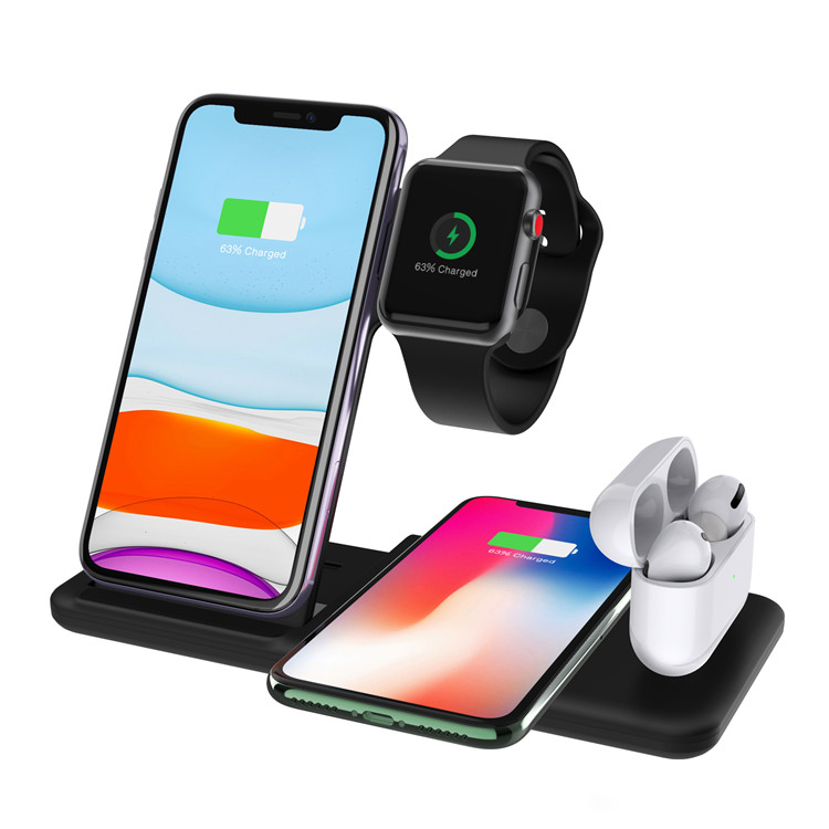 SIYOUNI Latest Latest Multi-funciton Wireless Charging Stand Pad