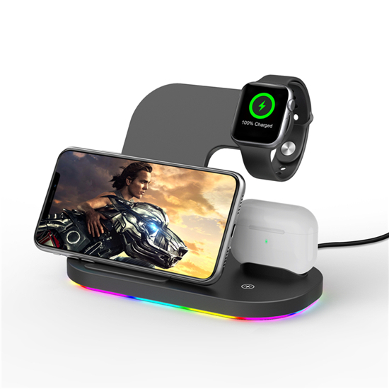 SIYOUNI Latest Multifunction 3 IN 1 Wireless Charging Station