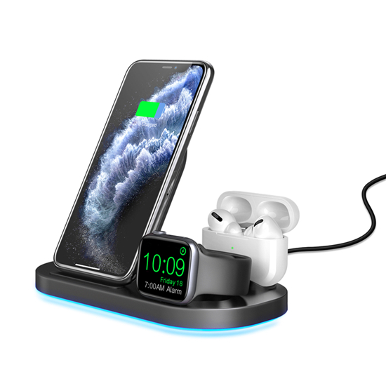 SIYOUNI 3 IN 1 Foldable Wireless Charger Dock